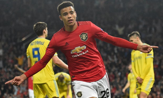 The feat of being Manchester United's youngest ever scorer in Europe